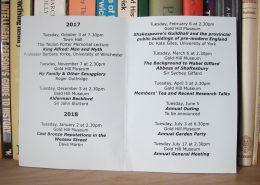2017-18 Programme