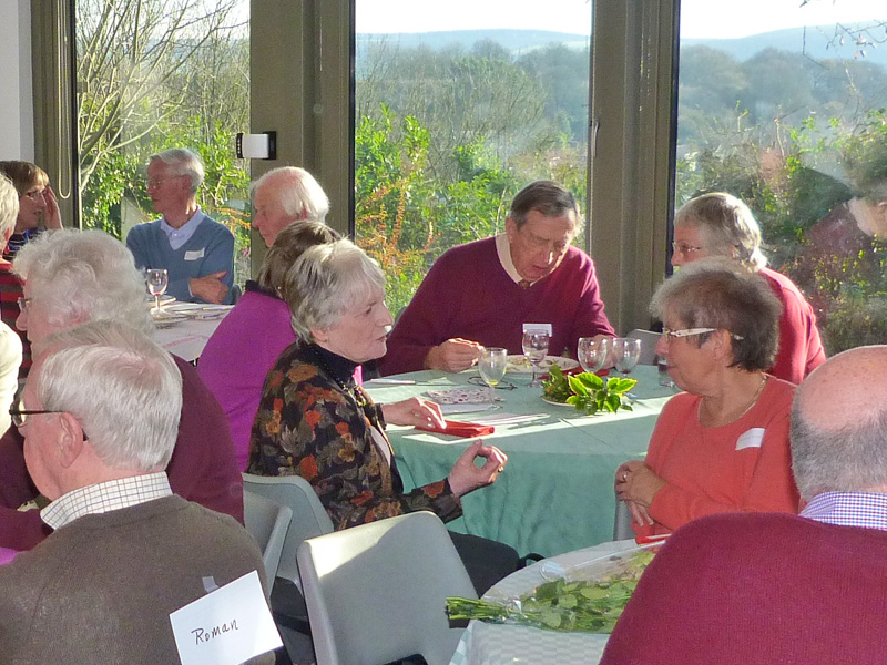 Volunteers Event in the Gold Hill Museum Garden Room
