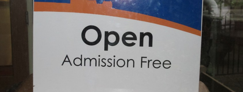Open Free Admission