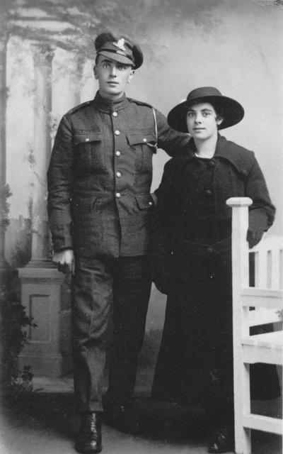 Cornelius and Hannah Kate Rapley
