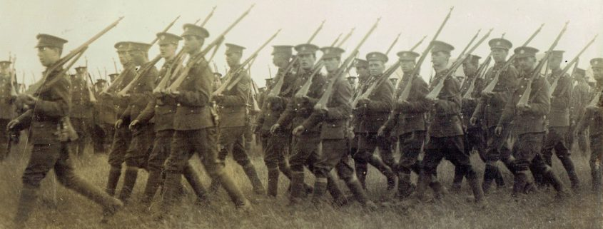 Shaftesbury Remembers Dorset Regiment Territorials
