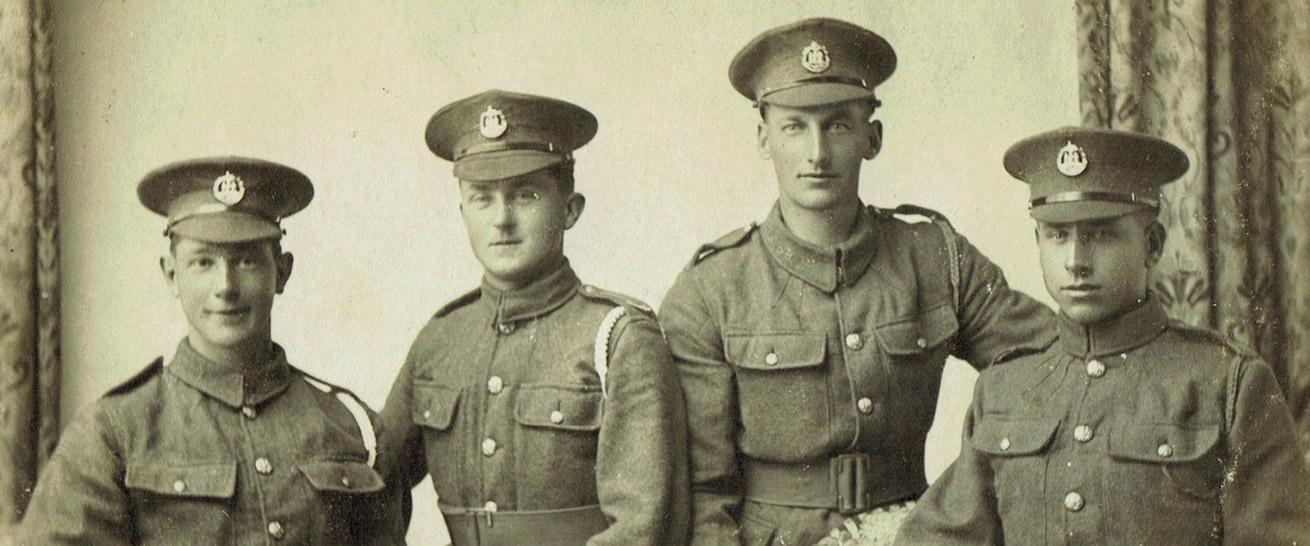 Shaftesbury Remembers Dorset Regiment