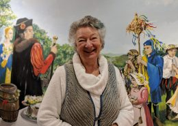 Janet Swiss and Byzant Mural