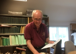 Sir John Stuttard delves into the archives at Gold Hill Museum