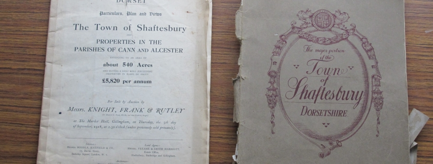 Sales of Shaftesbury