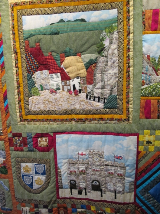 Detail from the Shaftesbury Quilt