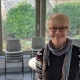 Gold Hill Museum Chairperson Elaine Barratt in the Garden Room