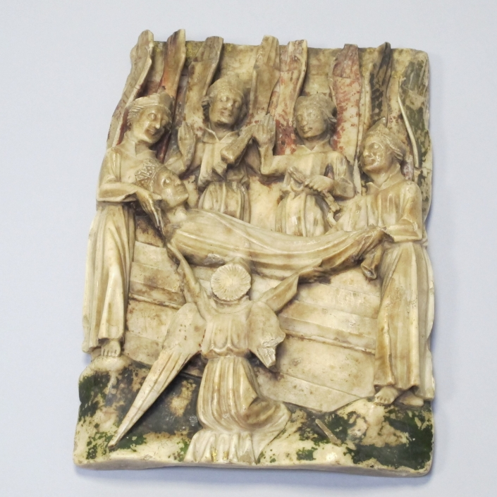 Alabaster altarpiece