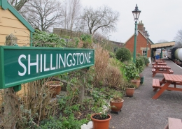 Shillingstone Station