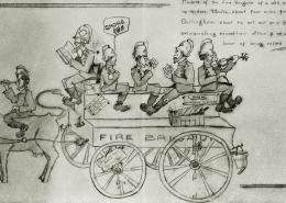 Fire Brigade Cartoon