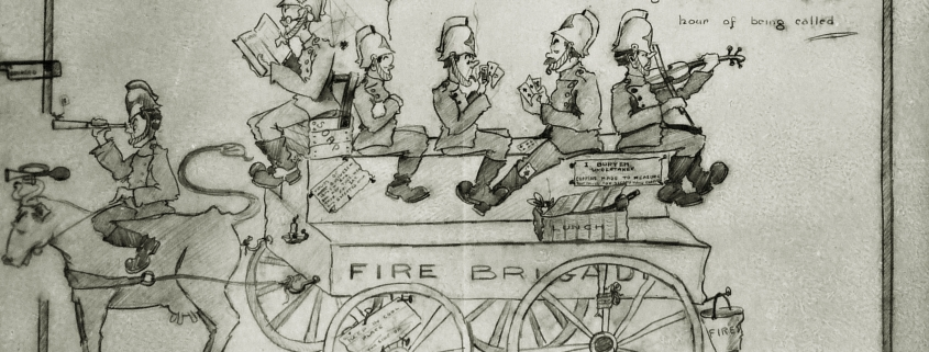 Fire Brigade Cartoon