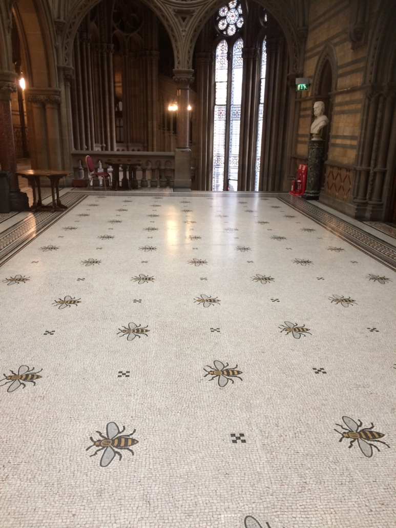 Worker bee motif Manchester Town Hall