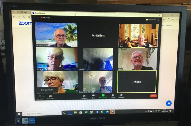 Virtual Trustee Meeting May 2020