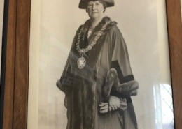 Edla Norton Mayor of Shaftesbury 1933 (3)