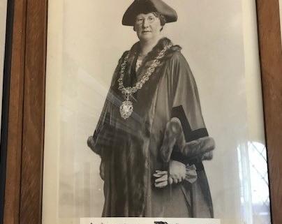 Edla Norton Mayor of Shaftesbury 1933 (3)