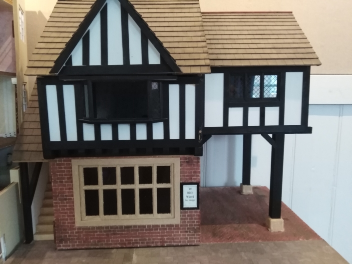 Miniature Tudor Tea Rooms by Tryphena Orchard