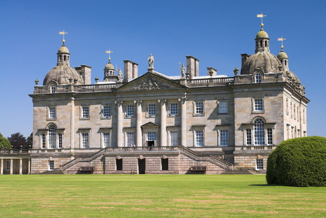 Houghton Hall, Norfolk by Dennis Smith