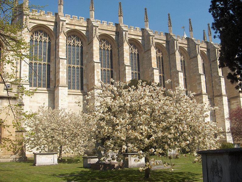 Eton College Chapel (photo by Jonnrobb)