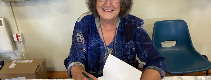 Christina Richard, author of Mr & Mrs Lockwood Kipling
